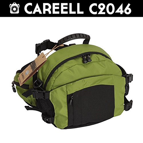 Careell C2046 DSLR Kamera Outdor Wasserdicht Sports Bag Umhängetasche – Grün