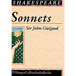 Sonnets                   By:                                                                                                                                 William Shakespeare                               Narrated by:                                                                                                                                 Sir John Gielgud                      Length: 1 hr and 50 mins     1 rating     Overall 5.0