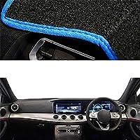 XQRYUB 車のダッシュボードカバーダッシュマットカーペットケープ、メルセデスベンツ E クラス W213 2017-2021 LHD RHD E-Klasse E200 E250 E300 E220d AMG
