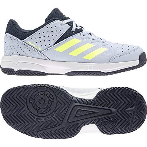 adidas Court Stabil JR, Zapatillas Deportivas, AZUHAL/AMALRE/Tinley, 33.5 EU