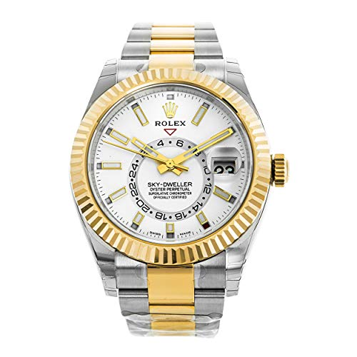 Rolex Oyster Perpetual Sky-Dweller Automatic Men's Two-Tone Watch 326933WSO