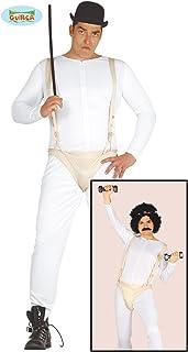 12f05e78501 traje de hombre de traje gimnasta Droogs naranja mecánica