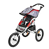 Allen Sports Premier Aluminum 1-Child Jogger, Red, Model J1