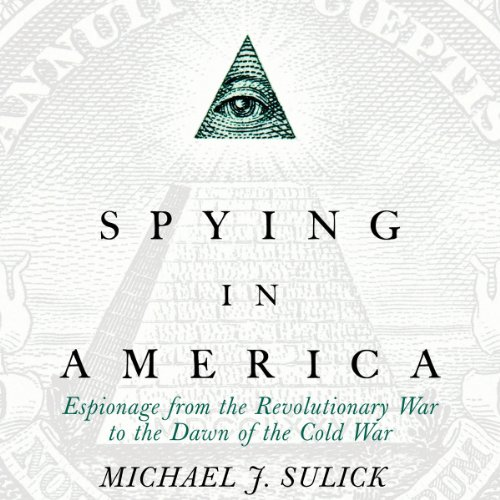 Spying in America audiobook cover art