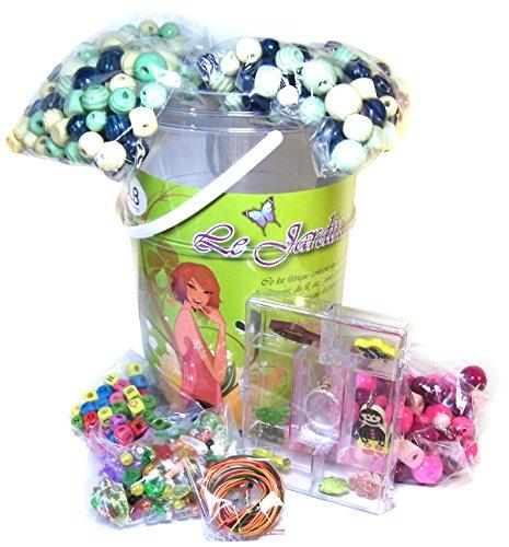 Wdk Partner - A1305020 - Outillage De Jardin Pour Enfant - Kit Baril De Jardin Aux Fleurs