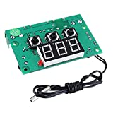 SHANG-JUN Fácil de Montar Temperatura Digital de Gran precisión Controlador for Especial 12V24V Semiconductor Refrigeración viruta XH-W1302 Conveniente (Color : 24V)