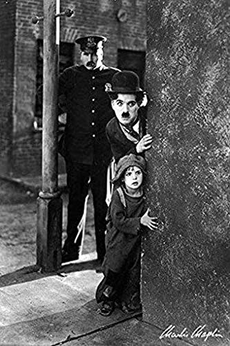 BIGGROUP #Charlie #Chaplin #Poster #- The Kid Movie Scene New -Pw0Gifts Poster Wall Art Print Posters Poster