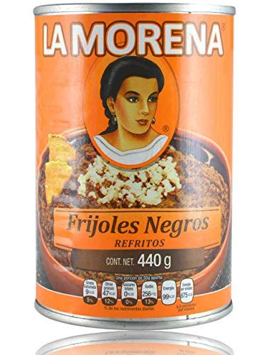 Frijoles Negros Refritos, La Morena