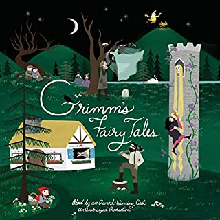 Grimm's Fairy Tales audiobook cover art