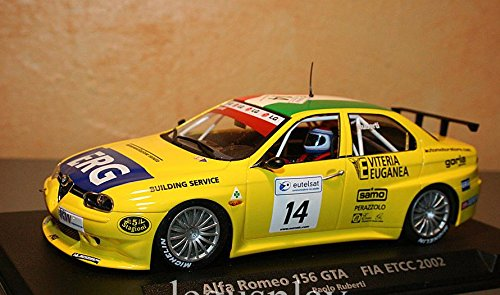 FLy - Scalextric Slot 88114 Compatible Alfa Romeo 156 GTA - Fia...