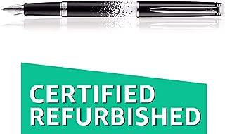(Renewed) Waterman Hemisphere Ombres Chrome Trim Fountain Pen