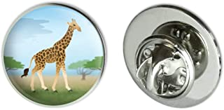 Giraffe in Africa Metal 0.75