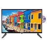 MEDION E12423 60,5 cm (23,8 Zoll) Full HD Fernseher (Triple Tuner, DVB-T2 HD, integrierter DVD-Player, CI+, Mediaplayer, 12V KFZ Car-Adapter)