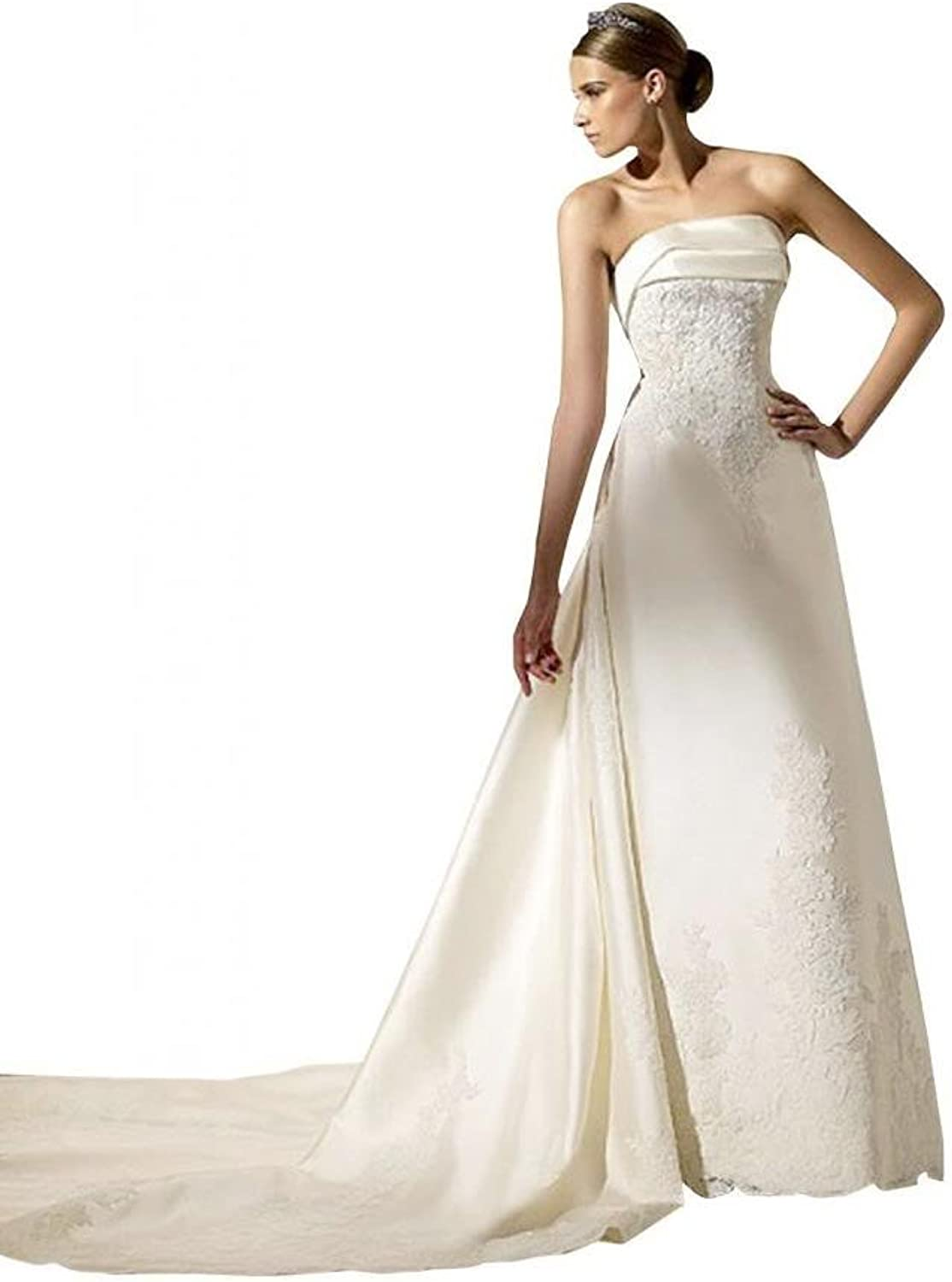 Passat V Neck Wedding Dress
