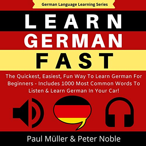 Learn German Fast Titelbild