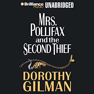 Mrs. Pollifax and the Second Thief audiobook cover art