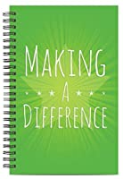 Successories 742330 Making a Difference Spiral Notebook [並行輸入品]