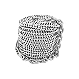 Norestar 150 feet by 1/2 inch Braided Nylon Boat Anchor Rope and 15 feet by 1/4...