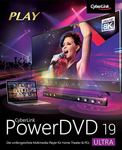 Cyberlink PowerDVD 19 Ultra PC Bild