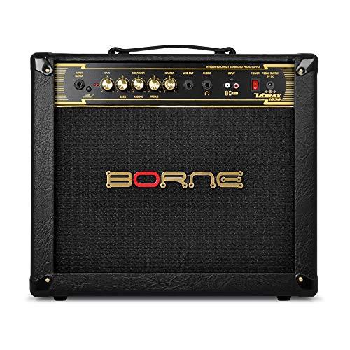 Amplificador Cubo para Guitarra Vorax 1050 50W Preto Borne