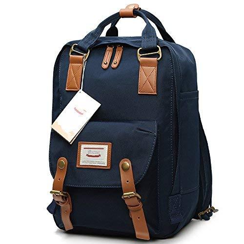WYMF Rucksack, Donut-Rucksack, großes Fassungsvermögen, Reiserucksack für Damen und Herren blueberry