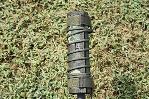 Sub-tac Alpha Suppressor Cover 9 inch Camo Multicam
