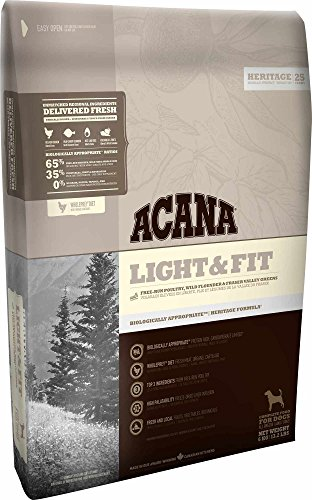 Acana Light & Fit Dog, 1er Pack (1 x 6 kg)