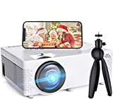 Mini Overhead Projector USF-2 Home Theater Video Projector Compatible with TV Stick, PS4, HDMI, TF, AV, USB for Home Entertainment
