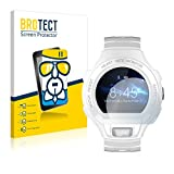BROTECT Panzerglas Schutzfolie kompatibel mit Alcatel Go Watch - AirGlass, 9H Festigkeit, Anti-Fingerprint, HD-Clear