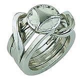 Bartl Huzzle Cast Ring II - Hochwertiges Metall-Puzzle -