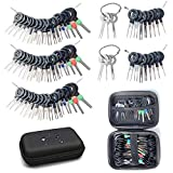 Maerd Terminal Removal Tool Kit, 76Pcs Terminal Ejector Kit for Car, Pin Extractor Tool Set Release Electrical Wire Connector Puller Repair Key Removal Tools