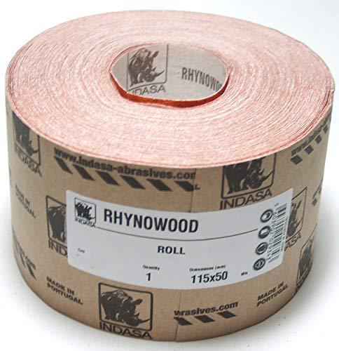 50m x 115 mm P240 Indasa Schleifpapier Woodline GP 0,28€/m