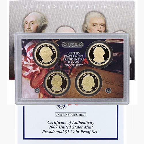 2007 S Presidential Dollar Set PF-30