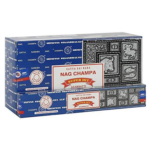 Satya Sai Baba Combo Pack Nag Champa & Super Hit Incenso