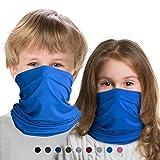 Kinder Multifunktionstuch Wärmer Winter, Mundschutz Schlauchtuch Sport Bandana Kopftuch für Jungen und Mädchen