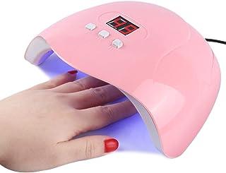 Guajave - Lámpara de secado de esmalte de uñas LED UV Gel acrílico con temporizador de manicura
