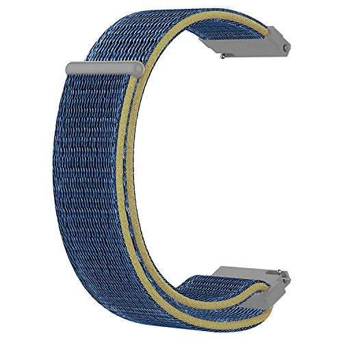 Acm Watch Strap Nylon Soft Loop 20mm Compatible with Timex...