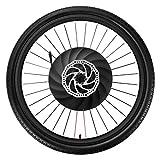 YUNZHILUN iMortor 26 Pulgadas Rueda de Bicicleta eléctrica Delantera con Bluetooth 4.0 para...