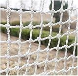 Knoijijuo Corde Net Blanc Garde-Corps Net Marchandises Net Pied Net Sécurité Enfant...