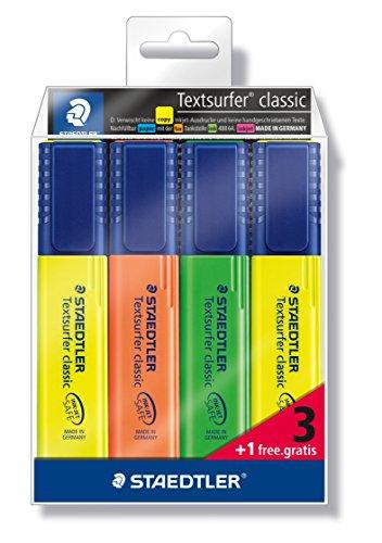 Staedtler Textsurfer Classic 364-S WP4P - Estuche promociona