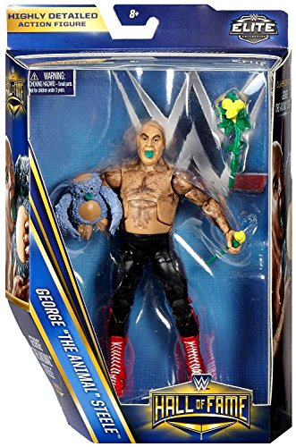 WWE Hall of Fame Elite Collection 6 Exclusive George The Animal Steele Figure