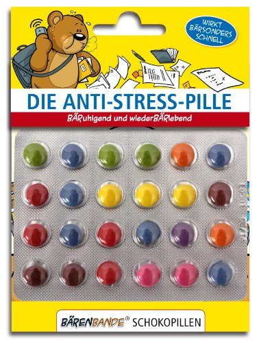 BärenBande Die Anti-Stress-Pille Schokopillen