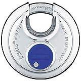 ABUS 24/70 Diskus Hardened Stainless Steel Padlock Keyed Alike - 2 Pack