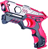 VATOS Infrared Laser Tag Gun (Red) One Pack for...