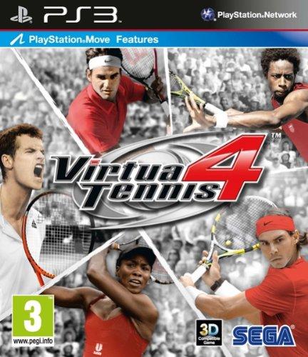 GIOCO PS3 VIRTUA TENNIS 4