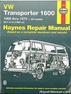 H96030 Haynes VW Transporter 1600 1968-1979 Auto Repair Manual
