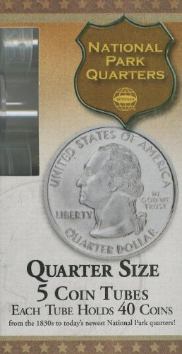 Quarter Size Coin Tube: 5 Count
