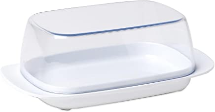 Mepal Butterdose, Plastik, Weiß 17 x 9.8 x 6 cm preisvergleich bei geschirr-verleih.eu