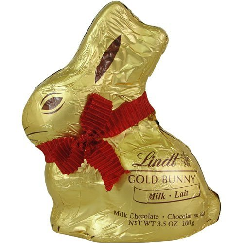 Lindt Gold Easter Bunny Milk Chocolate 3.5 Ounce - Perfect for building Easter baskets