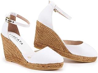 9ea61f00fb9a Amazon.com  White - Platforms   Wedges   Sandals  Clothing